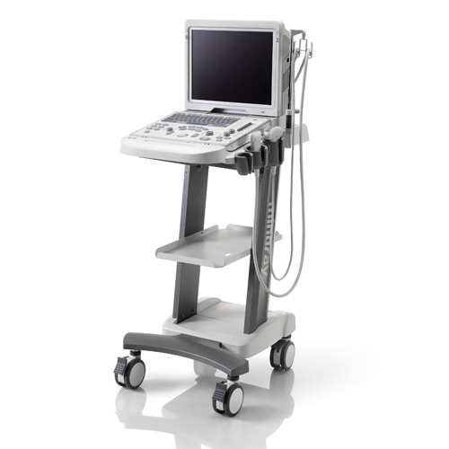 mindray-z5-veterinary-ultrasound-on-mobile-cart-for-sale